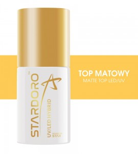 Top Matowy do paznokci UV / LED 6 ml